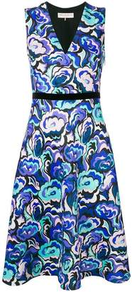Emilio Pucci abstract print flared dress
