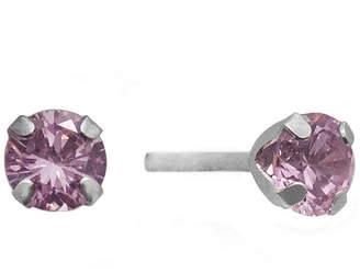 JCPenney FINE JEWELRY 2 CT. T.W. Color-Enhanced Pink Diamond Stud Earrings
