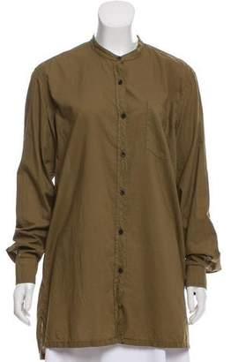 Dries Van Noten Long Sleeve Button-Up Tunic
