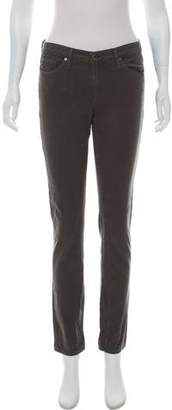 Adriano Goldschmied Mid-Rise Straight-Leg Pants