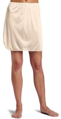 Vanity Fair Women's Tricot Double Slit Half Slip $16.90 thestylecure.com