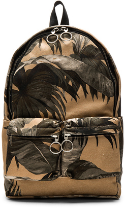 OFF-WHITE Banana Leaf Backpack $1,054 thestylecure.com