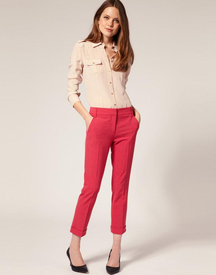 ASOS Jet Pocket Slim Cropped Pants