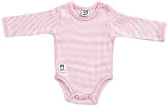 Pippi Baby-Girls Long Sleeve with Buttons O.Shoulder Bodysuit,(Manufacturer Size:50)