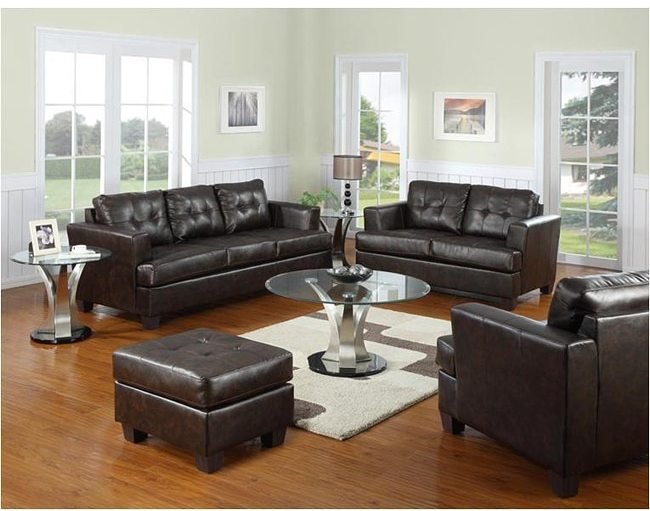 AcmeAcme Brown Bonded Leather Chair