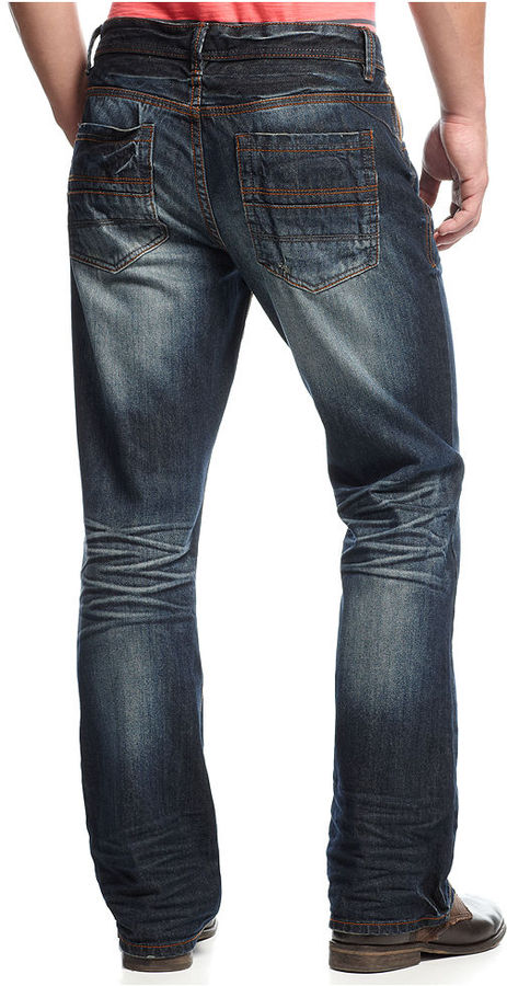 INC International Concepts Jeans, Klaus Slim Boot Jeans