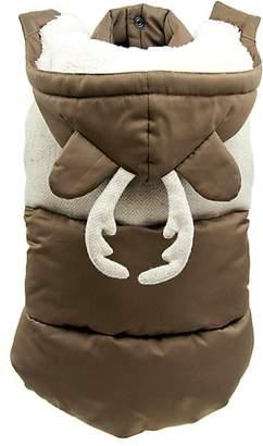 Max-Bone Max-Bone Disney's Frozen 2 x Max-Bone Sven Wool & Nylon Dog Puffer Vest