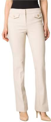 Le Château Women's Cotton Blend Slight Flare Pant