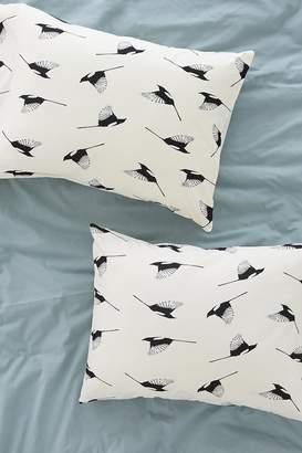 Deny Designs Elisabeth Fredriksson For Deny Magpies Pillowcase Set