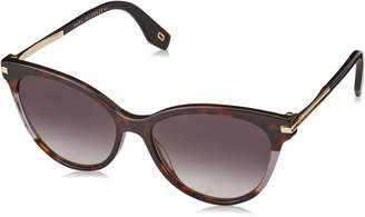 Marc Jacobs 295/S Womens Cateye Sunglasses, 55mm