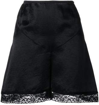 McQ lace detail skirt