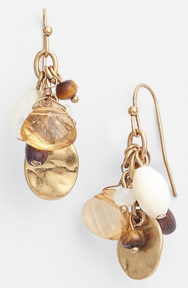 Lauren Ralph Lauren Cluster Drop Earrings