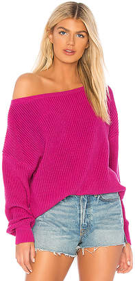 Callahan X REVOLVE Shaker Knit Off Shoulder Sweater