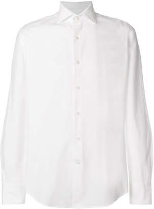 Glanshirt slim-fit cotton shirt