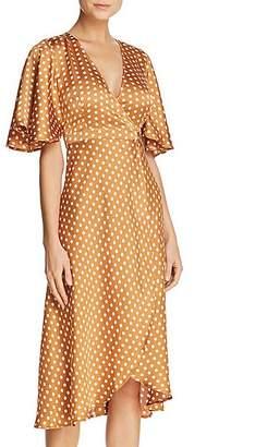 DAY Birger et Mikkelsen Re:Named Polka-Dot Wrap Dress
