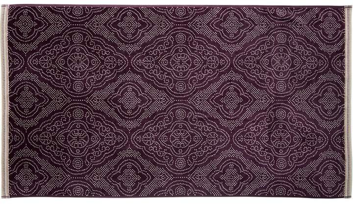 Bedeck 1951 - Dark Purple Cotton 'Omari' Towels