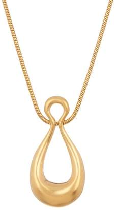 Trina Turk Double Teardrop Pendant Necklace