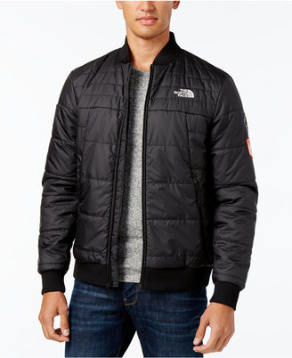 The North Face Men's Quilted Bomber Jacket $149 thestylecure.com