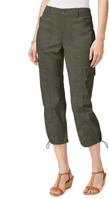 Style&Co. Style & Co. Mid-Rise Cargo Capri Pants