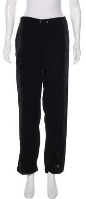 Sam Edelman Velvet High-Rise Pants