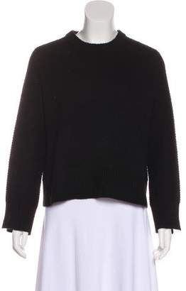Inhabit Cropped Cashmere Sweater
