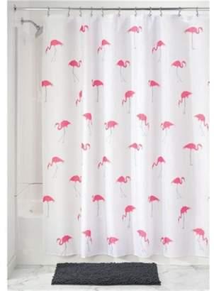 At House InterDesign Flamingo Shower Curtain