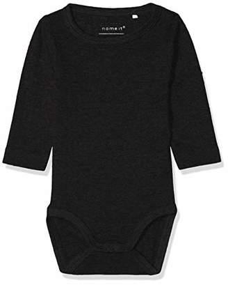 Name It Baby Boys' Nbmvay Ls Body Noos Footies,(Size: 50)