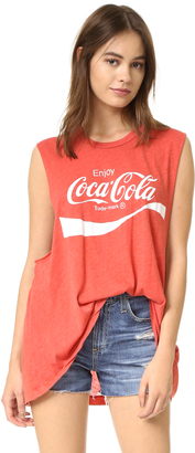 Wildfox Coca Cola Muscle Tank $64 thestylecure.com