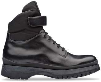 Prada Commando tread boots