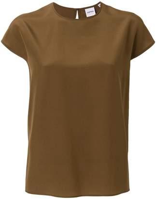 Aspesi cap-sleeve blouse