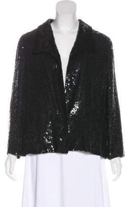 Valentino Embellished Collared Jacket