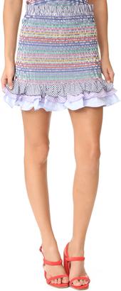 Petersyn Barrett Skirt $268 thestylecure.com