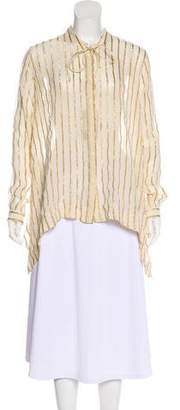 Etro Striped Button-Up Top w/ Tags