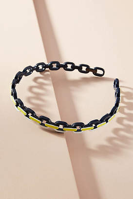 Alexandre de Paris Chunky Chain Headband