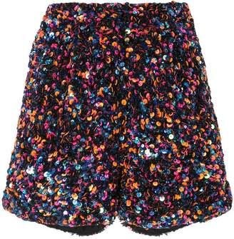 fd27d492debf Black Sequin Shorts - ShopStyle UK
