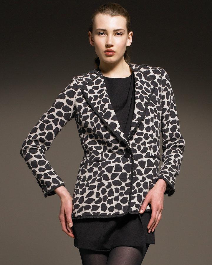 3.1 Phillip Lim Leopard-Print Wool Blazer