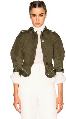 Alexander McQueen Military Peplum Jacket $2,565 thestylecure.com