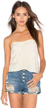 Obey Ursula Tube Top $48 thestylecure.com