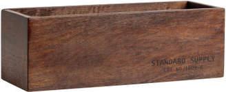 H&M Small Wooden Storage Box - Beige