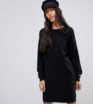 Asos Tall TALL Knitted Oversized Crew Neck Dress