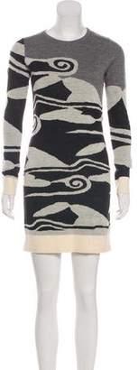 Diane von Furstenberg Wool Mini Dress