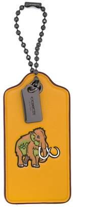 Coach Woolly hang tag