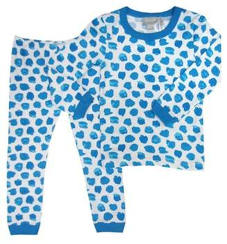 Coccoli Mediterranean Smudge Boy Pajama (Toddler, Little Kids, & Big Kids)