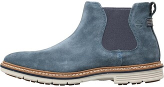 Timberland Mens Naples Trail Chelsea Boots Midnight Navy