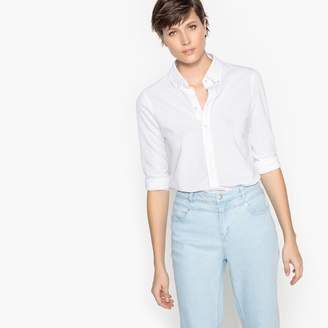 Benetton Long-Sleeved Straight Cut Shirt