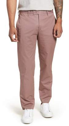 Ted Baker Cliftro Flat Front Stretch Cotton Pants