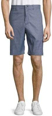 Callaway Stretch Heathered Houndstooth-Print Golf Shorts