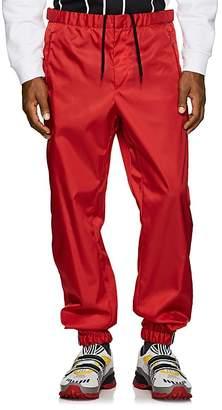 Prada Men's Rubber-Cuff Jogger Pants