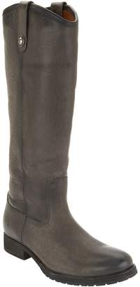 Frye Leather Tall Shaft Pull On Boots - Melissa Lug
