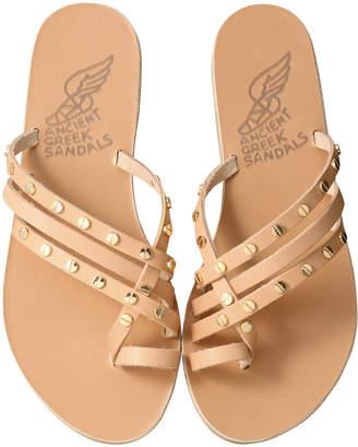 Ancient Greek Sandals エンシェント グリーク サンダルズ APLI AMALIA スタッズ付きフラットサンダル